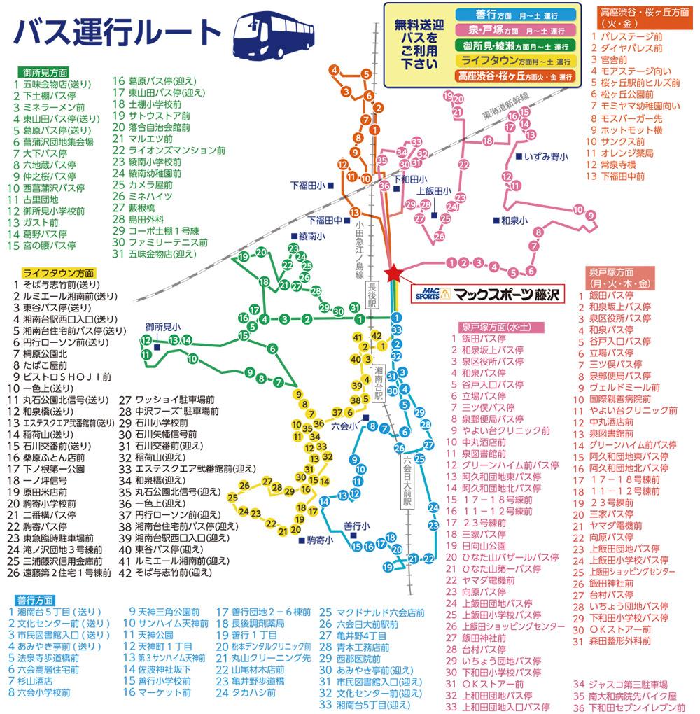 バス運行ルート